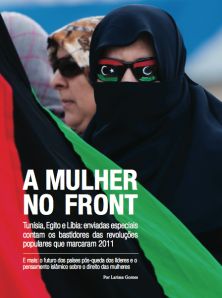 Capa - A mulher no front